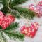 Julehjerter i Libertystof