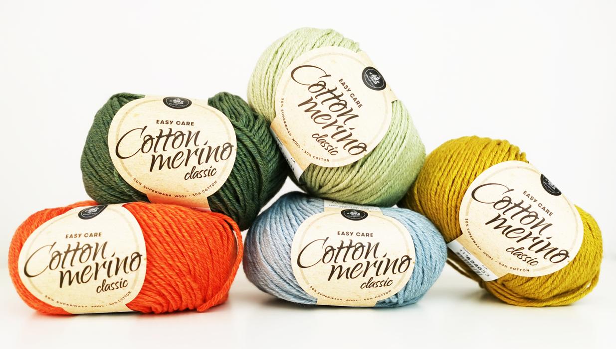 Mayflower cotton merino classic slider