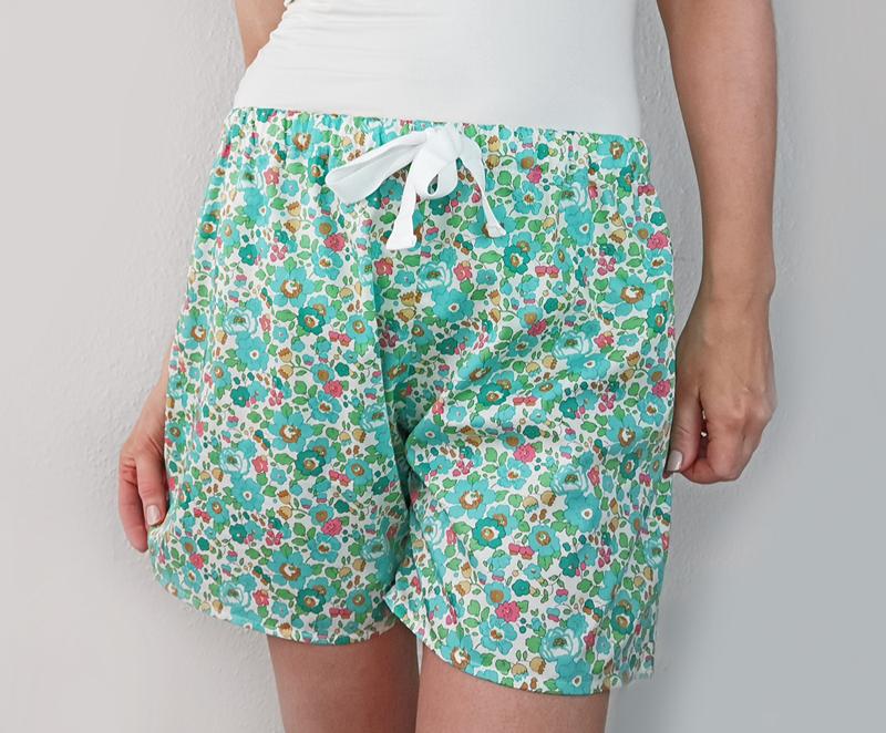 Lær at sy Pyjamasshorts